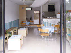 海の家カフェ